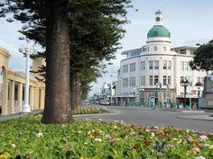 Napier 2 Central Business District, Open Up, Art Deco Fashion, New Zealand, Taj Mahal, Coastal, Street View, Architecture, City