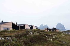 Driv Arkitekter | Boliger Træna Norway, Cabin, Mountains, House Styles, Nature, Travel, Instagram, Home, Naturaleza