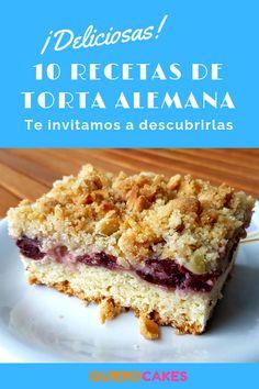 Las mejores y más ricas recetas de TORTA ALEMANA están en QUIEROCAKES ¡Descúbrelas ahora!