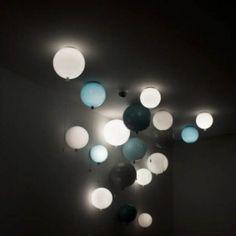 Vägglampa Ballong