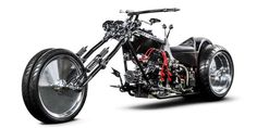 This 4-Wheeled Chopper Is One Seriously Badass Reader Build..Pinned for you By: www.cyclepartsalley.com