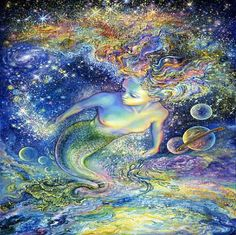 art by josephine wall images | Space maid, art, fantasy, Josephine Wall, space