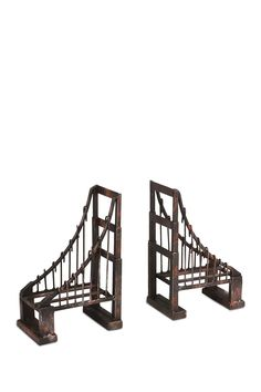 Aged Brown Suspension Bookends - Set of 2 by Mercana on @nordstrom_rack