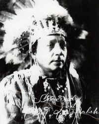 Levi General is one of the most renowned members of the Haudenosaunee.     Levi gained the respect of his people as a linguist who could speak the five dialects of the Haudenosaunee as well as English.    In 1917 he was selected to sit on the traditional Cayuga Council under the name Deskaheh.