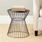 Adele Black End Table