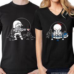 BOLDLOFT May the Love be with You Couples Shirts. Perfect his and hers anniversary gifts, cotton anniversary gifts, wedding anniversary gifts, and dating anniversary gifts. Funny Couple Shirts, Funny Disney Shirts, Couple Tees, Matching Couple Shirts, Matching Couples, Funny Couples, Matching Set, Couple Gifts, Cotton Anniversary Gifts
