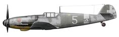 "Messerschmitt Bf 109 G-6trop { ex Luftwaffe } 153 Squadriglia ""Diavoli Rossi"" 3 Gruppo Comiso 1943 ."