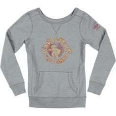 Cavaliers Ladies Pull Over Crew Bigger Retro Logo $50 SALE $19