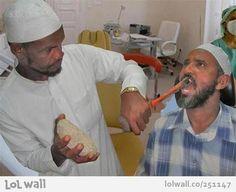 Hintli diş doktoru. Aman allahım...  from http://www.benten.gen.tr