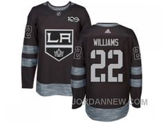 http://www.jordannew.com/los-angeles-kings-22-tiger-williams-black-19172017-100th-anniversary-stitched-nhl-jersey-christmas-deals.html LOS ANGELES KINGS #22 TIGER WILLIAMS BLACK 1917-2017 100TH ANNIVERSARY STITCHED NHL JERSEY FREE SHIPPING Only $35.00 , Free Shipping!