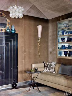Жан-Луи Денио оформил квартиру в Чикаго   AD Magazine/Jean-Louis Deniot
