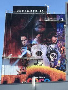 The Force Is Strong … : えッ、封切られたばっかりなのに… ! ! と、ショックを受けてしまったディズニー・ピクサーのアニメ映画「ココ」のリー・アンクリッチ監督 ! !  - 「ココ」が封切られたのは、週の半ばの水曜日の11月22日でしたから、ロサンゼルスでは今日の25日(土)は公開から4日めになります!!  | CIA Movie News |  Coco, Lee Unkrich, Pixar, Disney, Star Wars, Photo, Anime - 映画 エンタメ セレブ & テレビ の 情報 ニュース / CIA こちら映画中央情報局です