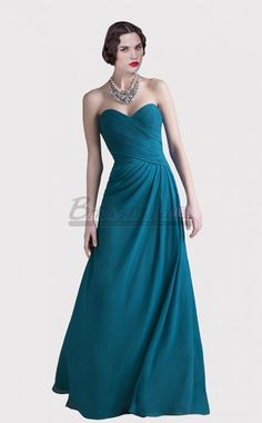 Blue Chiffon Sweetheart Long bridesmaid dress in Blue Long Mid Back bridesmaid dresses Bridesmaid dresses line is concise fluent style of sobriety Bridesmaid Dresses Long Blue, Designer Bridesmaid Dresses, Elegant Prom Dresses, Strapless Dress Formal, Formal Dresses, Chiffon Dress, Wedding Gowns, Model, Style
