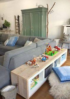 Jeder kennt wohl die 'Kallax' Schränke von IKEA! Nachstehend 9 fantastische Ideen zum Selbermachen mit den Kallax Schränken! - DIY Bastelideen