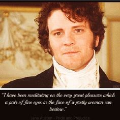 So it's #worldsmileday and I just want to draw everyone's attention back to this smile from the BBC Pride and Prejudice #theoriginalpoldark #omg #colinfirth  #quotes #quotestagram #book #books #read #reader #reading #word #words #quotations #inspirationalquotes #inspirationalquote   #booknerd #booknerds #literature #englishstudent #bookstagram