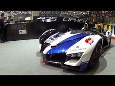 Not Your Kind Of Driving: Phiaro P75 Concept CIPHER - Geneva Motorshow 2015