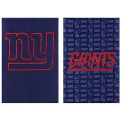 Team Sports America NFL Double Sided Glitter House Flag - 13S3820BL