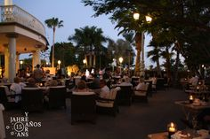 Cocktail and party at the Tiffany Terrace  #Tenerife#hotel#CostaAdeje#hotellujo