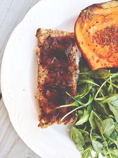 glazed lentil walnut apple loaf more life news apple loaf blog sakara ...