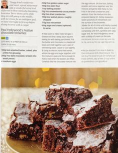 I've seen similar recipes around, but none with the mince meat! Chocolate Tea Cake, Chocolate Brownies, Brownie Recipes, Cake Recipes, Chocolate Festival, Mince Meat, Xmas Food, Tea Cakes, Unsweetened Cocoa