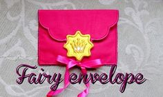Fairy Envelope Easy In The Hoop Machine Embroidery