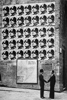 Tim Gidal. Friends under Mussolini Posters, Rome. 1930 [::SemAp FB || SemAp::]