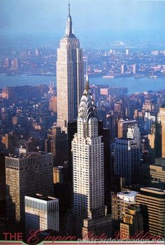 The Empire State Building in New York City - Postcard Exchange ...