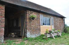 Cow barn exterior