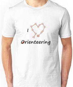 I Heart/Love Orienteering Unisex T-Shirt