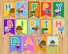 Hey Duggee Party Game Pin the Badge on Duggie Birthday