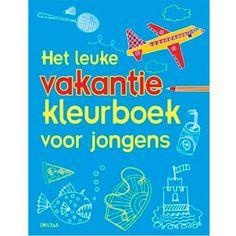 het leuke vakantie kleurboek voor jongens deltas | ilovespeelgoed.nl