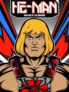 80 ilustraciones de He-Man para decir: ¡Ya tengo el poder!