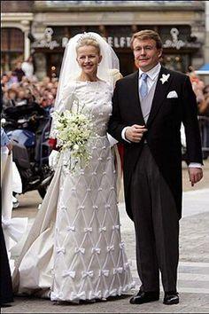 Prince Johan Friso of Orange-Nassau married Mabel Wisse Smit, on April 24, 2004 in Delft, The Netherlands.