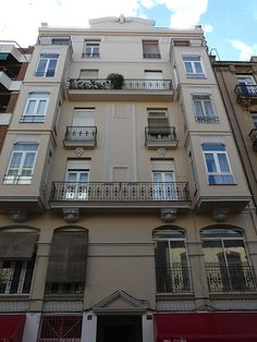 The flat I was living in when I wrote the second novel in the Max Cámara crime series, A Death in Valencia.