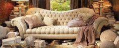 Arhaus Club Sofa