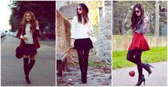 Como usar #faldas en invierno   #Moda Mckela