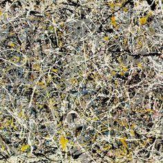 calebdwood:  Jackson Pollock, paintings in motion