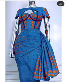 African Fashion Ankara, Latest African Fashion Dresses, African Dresses For Women, African Print Dresses, African Print Fashion, Africa Fashion, African Attire, Modern African Dresses, African Men