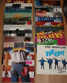 Vinyl Sammlung + Rock/Pop + Beatles + Springsteen + Bowie + Chapman + ABBAPo
