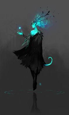 Han, Watcher of the Darkness by Koni-art Character Concept, Character Art, Concept Art, Fantasy Character Design, Fantasy Inspiration, Character Design Inspiration, Fantasy Creatures, Mythical Creatures, Fantasy Kunst