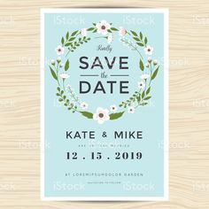 This Is An Instant Download Printable Save The Date Card Template