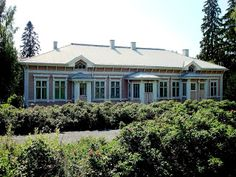 old beautiful Parsonage in Kangasniemi built 1890 Finland Old Houses, Finland, Colonial, Mansions, Architecture, Grandparents, House Styles, Building, Father