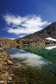 lake,river,reflections,mountains,landscapes,nature, national park sierra nevada, spain, granada, nature, landscape, outdoors,  exterior, europe, photography, river,, mountain,,green,grass,lake,reflections,snow,water,blue