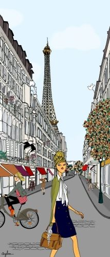 Do it in Paris - by Angéline Merlin