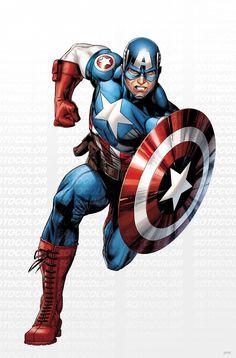 Avengers Captain America by *JPRart on deviantART