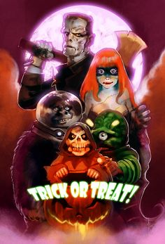 Trick or Treat By Alex Tuis...