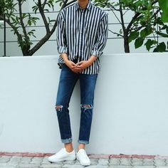 Cool Mens Fashion 2018, Korean Fashion Men, Fashion Moda, Mens Fashion Suits, Korean Men, Look Fashion, Outfits Hombre, Boy Outfits, Fashion Outfits