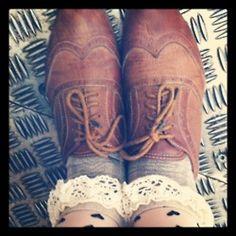 frilly socks :)