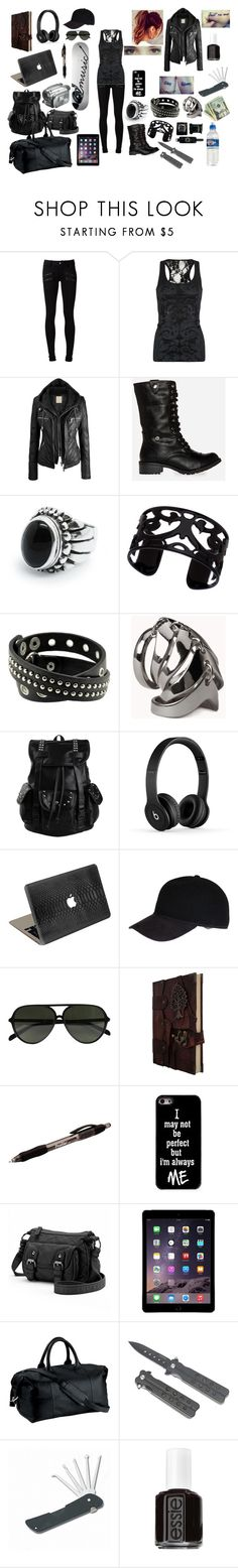 """Ava Salvator"" by theawesomechic15 ❤ liked on Polyvore featuring Paige Denim, Full Tilt, DailyLook, Lisa August, Forever 21, Valentine Goods, Christys', CÉLINE, Paper Mate and Candie's"