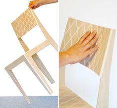 rombo chair by JC karich